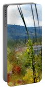 On The Edge Of Reality Portable Battery Charger