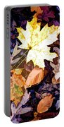 On The Forest Floor Vivid Colors Portable Battery Charger