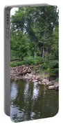 On The Grounds At Cryastal Bridges Portable Battery Charger