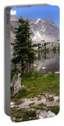 On The Snowy Mountain Loop Portable Battery Charger