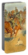 On The Southern Plains Frederic Remington Portable Battery Charger