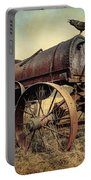 On The Water Wagon - Agricultural Relic Portable Battery Charger by Gary Heller