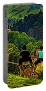 On The Way To Bran Castle Portable Battery Charger