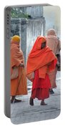 On The Way To Morning Prayers - India Portable Battery Charger
