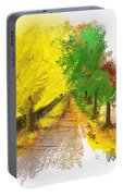 On The Yellow Road Portable Battery Charger