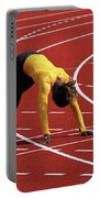 Track And Field 1 Portable Battery Charger