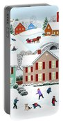 Once Upon A Winter Portable Battery Charger