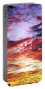 One Dawn Autumn Sky Portable Battery Charger