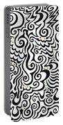 One Love Tribal Portable Battery Charger