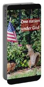 One Nation Under God Portable Battery Charger