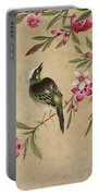 One Of A Series Of Paintings Of Birds And Fruit, Late 19th Century Portable Battery Charger