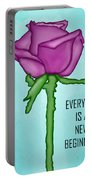 One Rose Everyday Portable Battery Charger