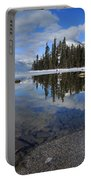 One Winters Morning Portable Battery Charger