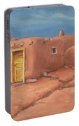 One Yellow Door Portable Battery Charger