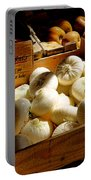 Onions Blancs Frais Portable Battery Charger