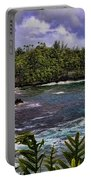 Onomea Bay Hawaii Portable Battery Charger