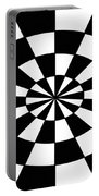 Op Art Portable Battery Charger