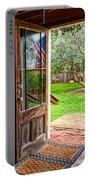 Open Door Portable Battery Charger