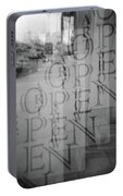Open Sign Quadruple Multiple Exposure Holga Photography Portable Battery Charger