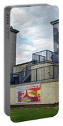 Operation Motorman Mural In Derry Portable Battery Charger