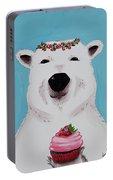 Ophelia The Polar Bear  Portable Battery Charger