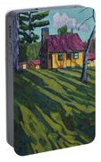 Opinicon Cottages In Autumn Portable Battery Charger