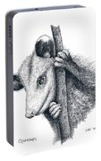 Virginia Opposum Portable Battery Charger