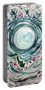 Oracular Yule Wreath Portable Battery Charger