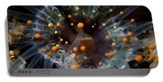 Orange And Black Anemone, Komodo Portable Battery Charger