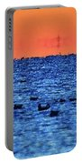 Orange And Blue Morning 4  Portable Battery Charger