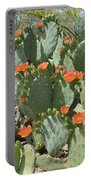 Orange Blossom Cactus  Portable Battery Charger