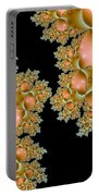 Orange Corals Portable Battery Charger
