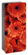 Orange Daisies Portable Battery Charger