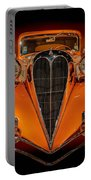 Orange Dream Portable Battery Charger by Susan Rissi Tregoning