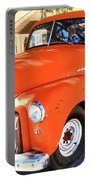 Orange Gmc Pickup Truck In Idyllwild Portable Battery Charger
