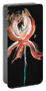 Orange Iris Bulb Portable Battery Charger