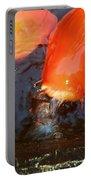 Orange Kiss Portable Battery Charger