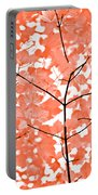 Orange Leaves Melody  Portable Battery Charger