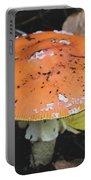 Orange Mushroom Portable Battery Charger