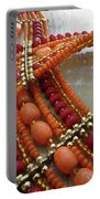 Orange Necklace Portable Battery Charger