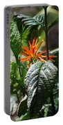 Orange Plants Portable Battery Charger