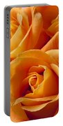 Orange Roses Portable Battery Charger by Garry Gay