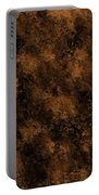 Orange Textures 001 Portable Battery Charger