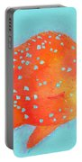 Orange Tropical Fish Portable Battery Charger