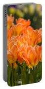 Orange Tulips Portable Battery Charger