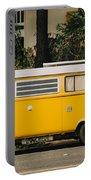 Orange Vw Bus Portable Battery Charger