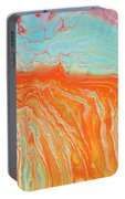 Tangerine Beach Portable Battery Charger
