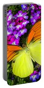 Orange Yellow Wings Portable Battery Charger