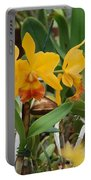 Orangepurple Orchids Portable Battery Charger