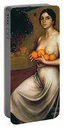 Oranges And Lemons Portable Battery Charger